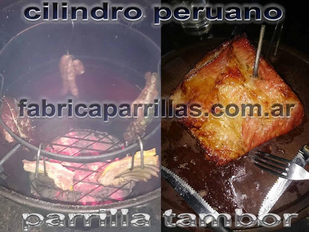 cilindro peruano parrillas tambor fabricante ahumador
